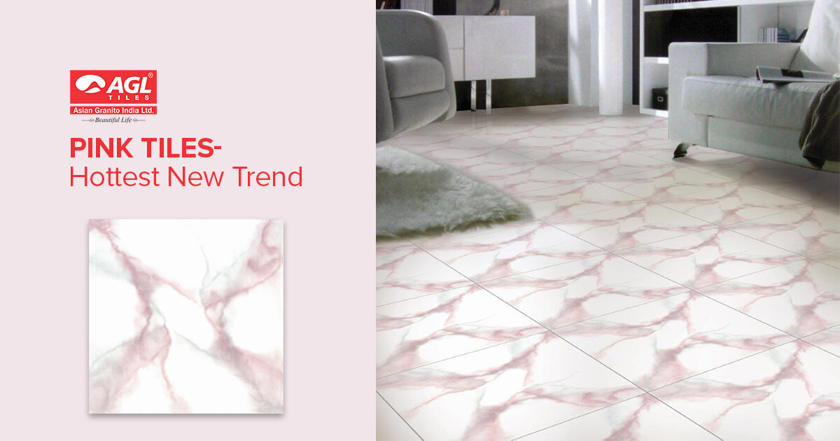 How To Style Pretty Pink Tiles in the Home