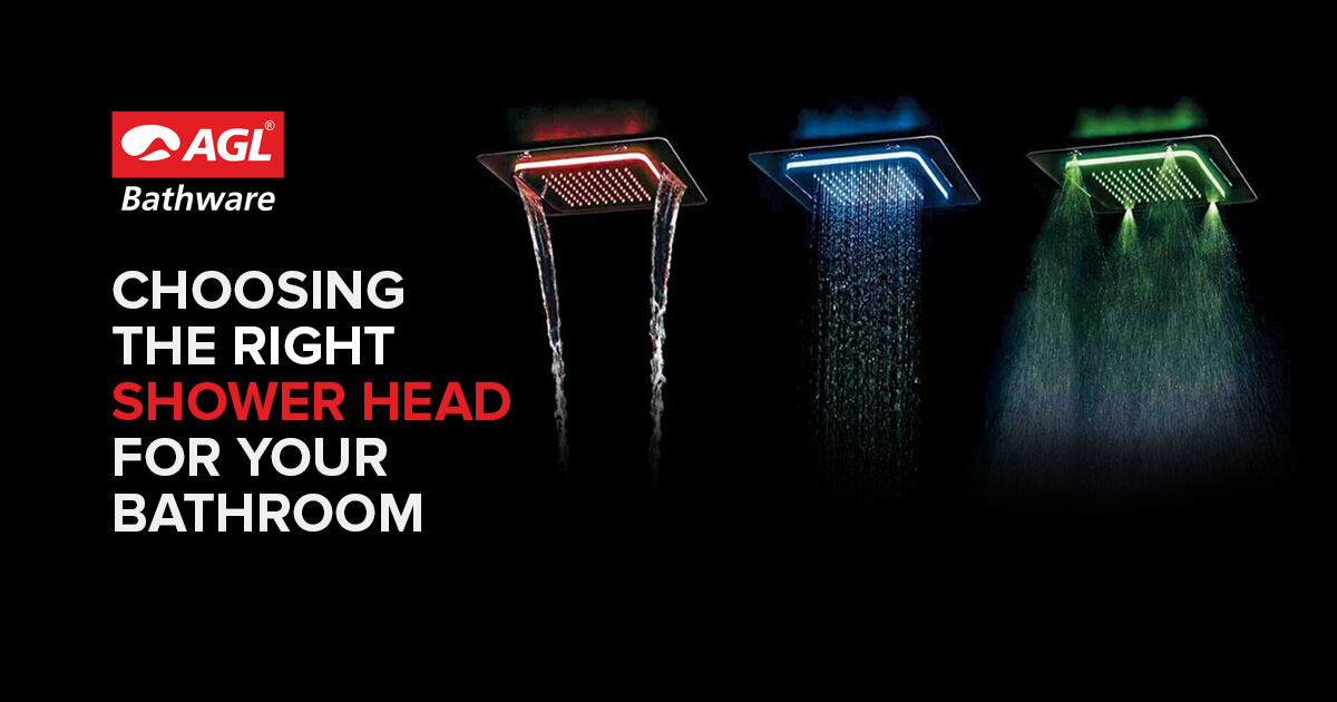 Shower Head 101-Choosing the Right Shower Head for Your Bathroom