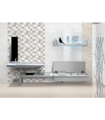 Zirve Grey Square Decor