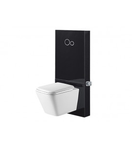 Toughened Glass Cabinet Concealed Cistern