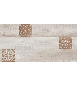 Opulence Decor Modern wood Gris