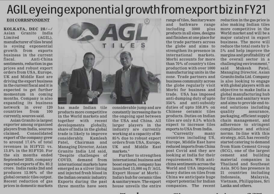 AGL is expanding Network in 120 countries - 08