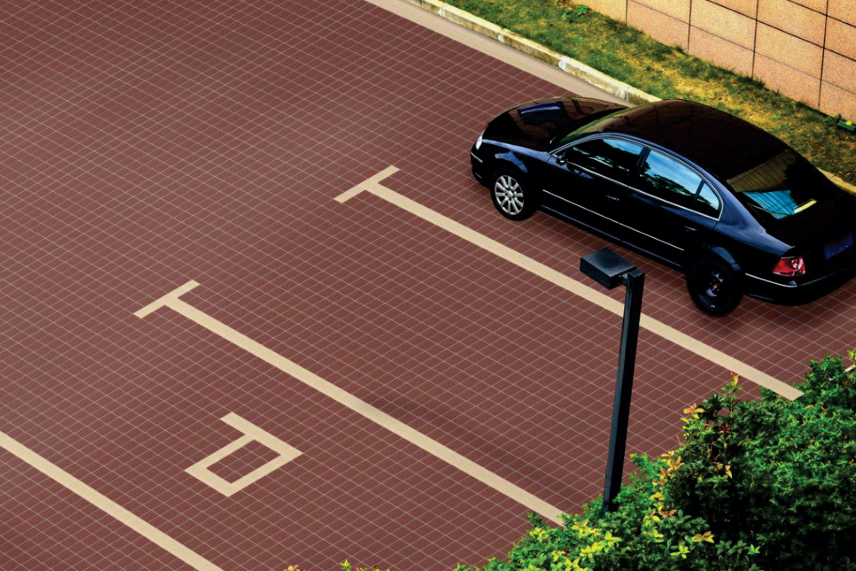Parking Vitrified