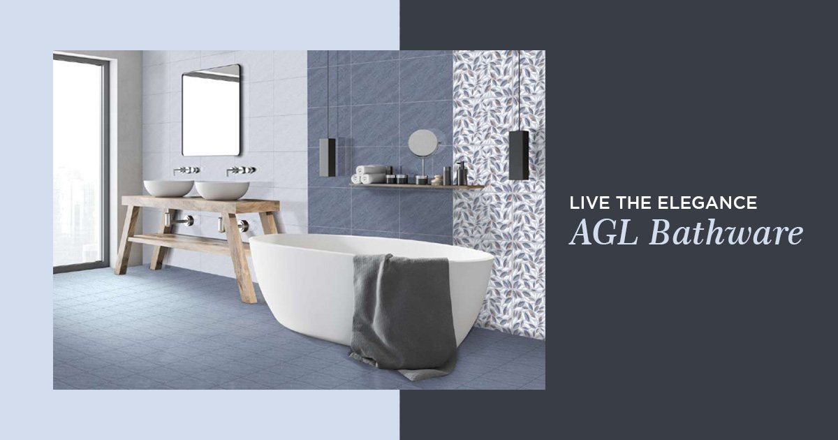 Live the elegance with AGL Bathware