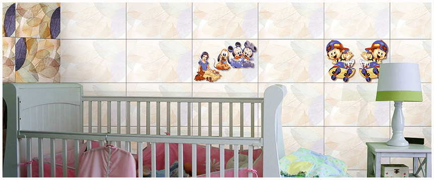 The perfect tiling guide to a kid's bedroom!
