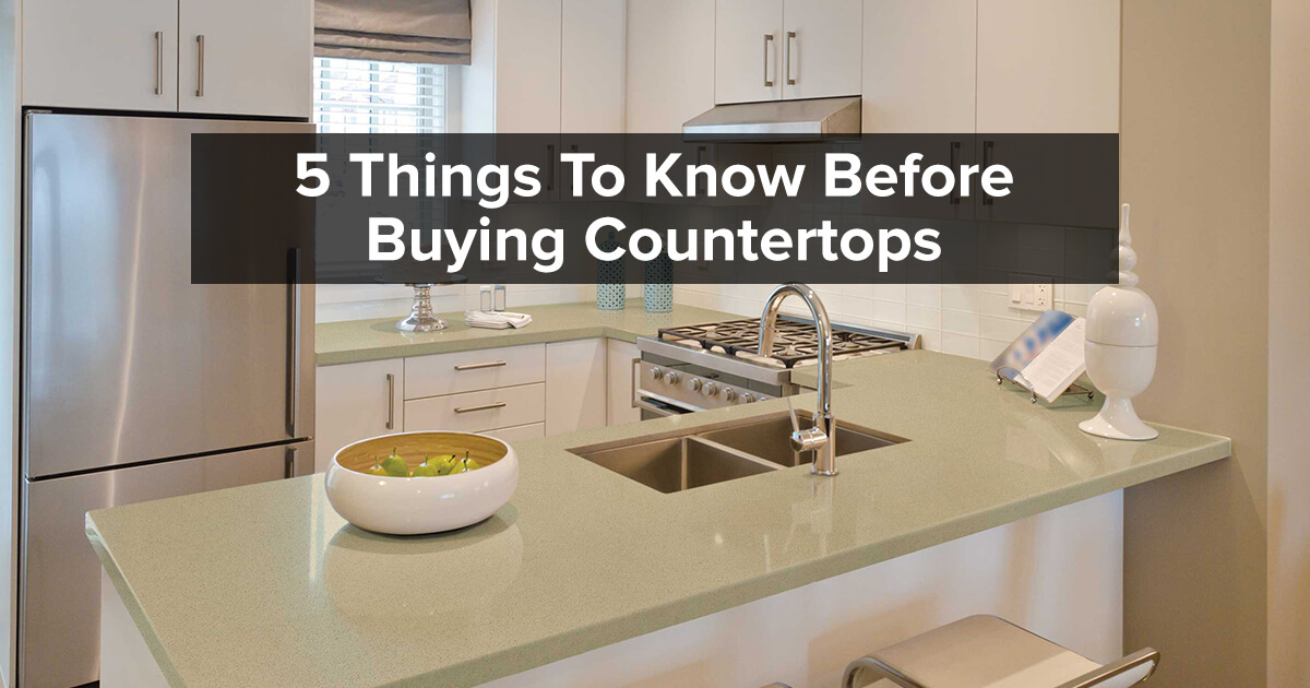Buying Guide for Kitchen Countertops