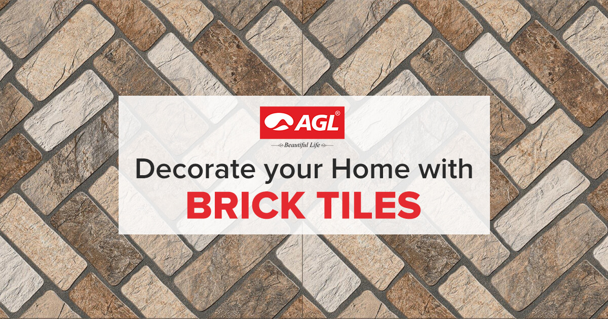 Decorate Your House with Brick Tiles