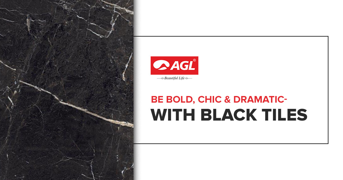 Black Tiles- Add a Touch of Boldness & Elegance