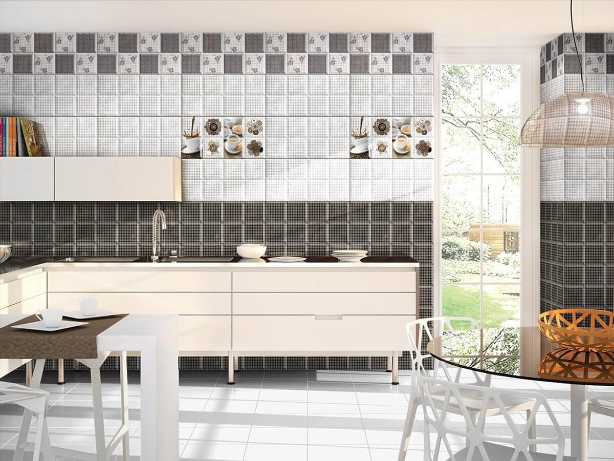 Right way to choose kitchen wall tiles