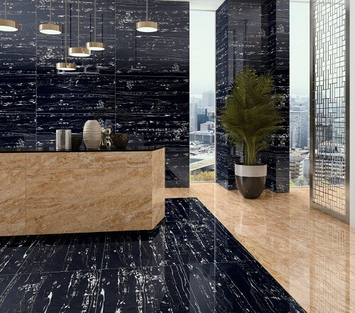 Why Black Marble Texture Tiles Are a Good Choice
