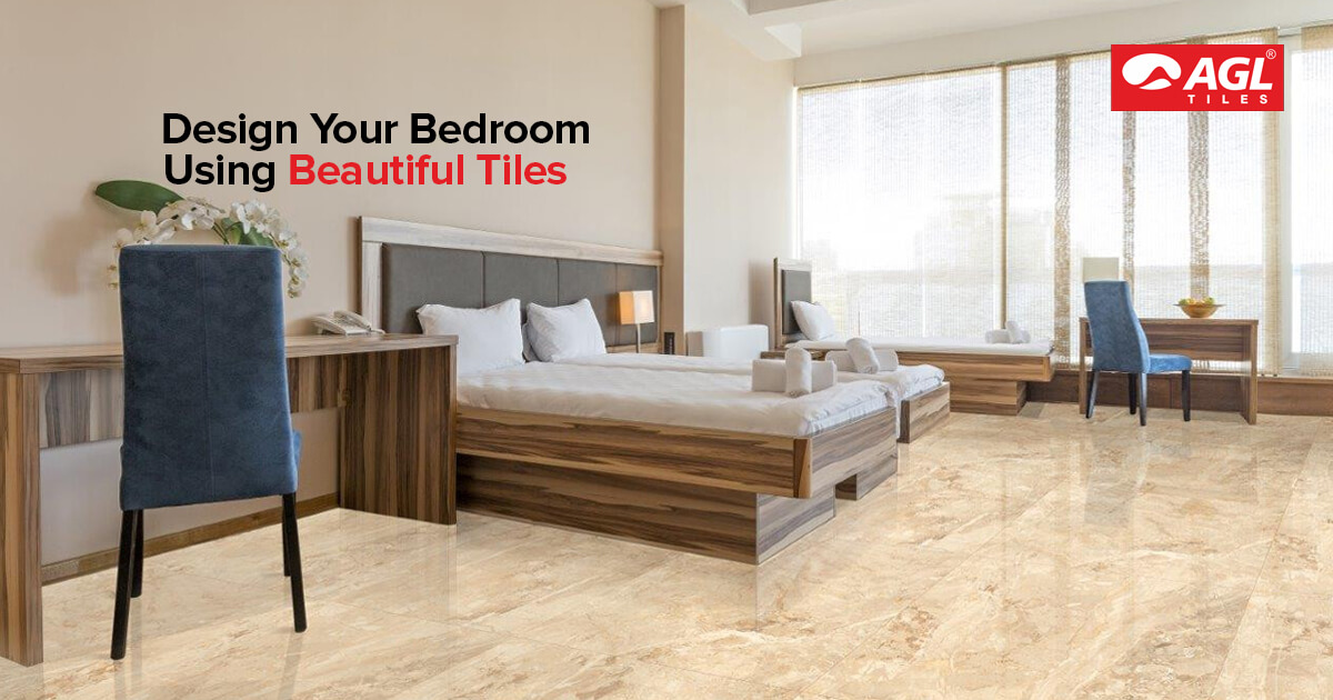 Enhance the Aesthetics of Your Bedroom Using Tiles Design