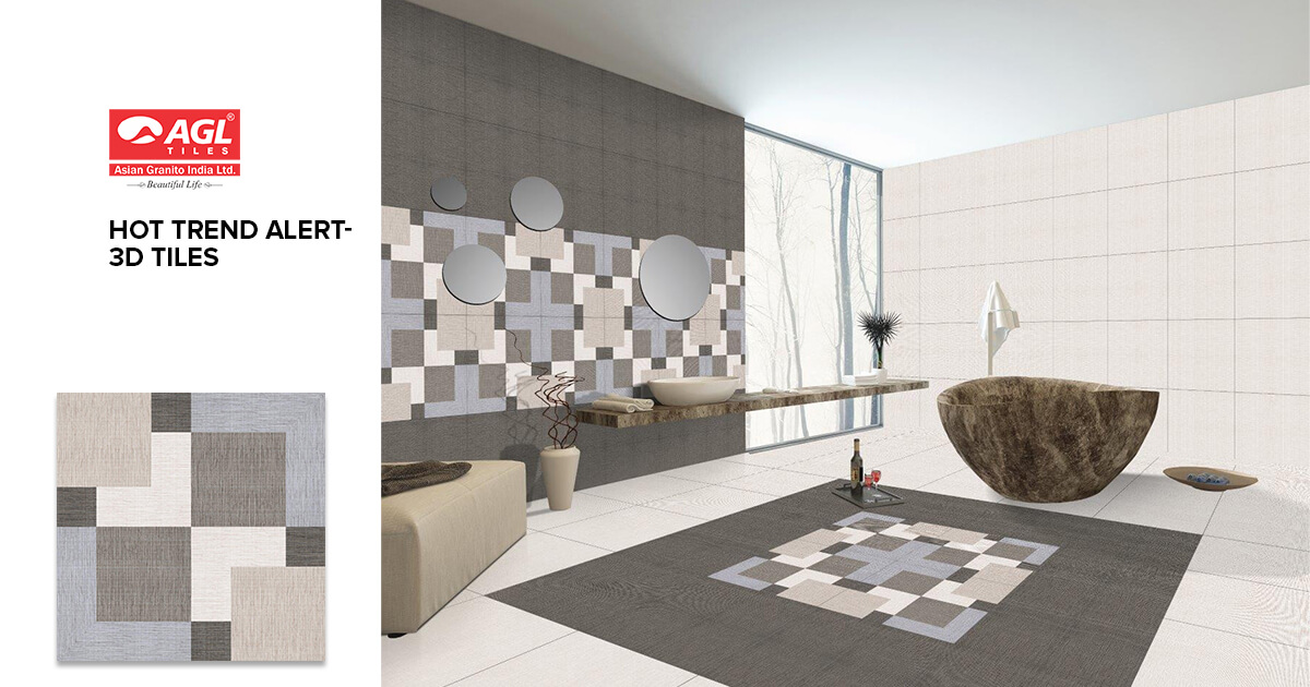 Learn How 3D Tiles are Rocking in Tile Industry
