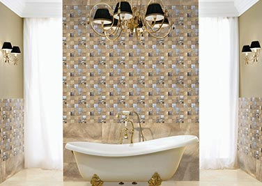 Bold and Beautiful Bathroom tiles