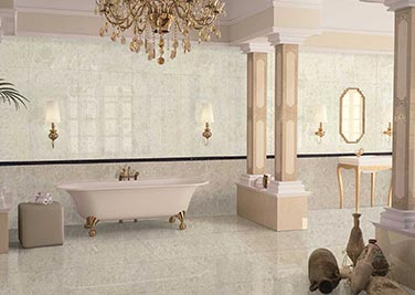 Honey Golden Bathroom tiles