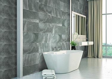 Dominator Grey Bathroom tiles