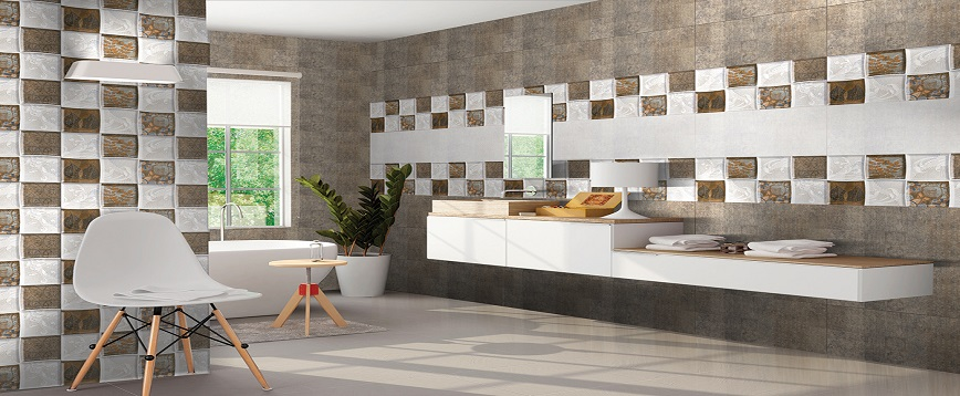 Square Tiles Enhance The Beauty Of